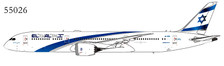 NG55026 | NG Models  1:400 | Boeing 787-9 EL AL 4X-EDB | is due: December 2019
