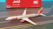 NG58035 | NG Model 1:400 | Boeing 737-800WL Jet2 G-JZBL | is due: December 2019