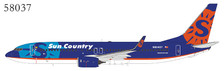 NG58037 | NG Model 1:400 | Boeing 737-800WL Sun Country  N804SY | is due: December 2019