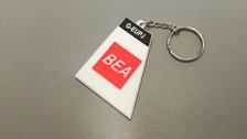 KR007 | Gifts | Tail Key Ring - BA 'BEA' G-EUPJ (retro)
