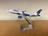 MS023 | Airbus A319 Aurora VP-BWK (die-cast, no gear, with stand, ca. 1:220 scale)