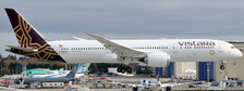 XX4251A | JC Wings 1:400 | Boeing 787-9 dreamliner Vistara (flaps down)  TBA | is due:January 2020