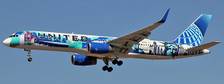 EW2752002 | JC Wings 1:200 | Boeing 757-200 United N14102 New York/New Jersey Livery with stand)