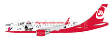 LH2205 | JC Wings 1:200 | Airbus A320 Air Berlin D-ABNM, 'Fly Home for Christmas' (with stand) | is due: Jabuary 2020