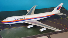IF741UA0819 | InFlight200 1:200 | Boeing 747-100 United Airlines N4724U (with stand)