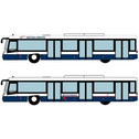 FWAA4004 | Miscellaneous 1:200 | Airport Accessories - 4 Piece British Airways buses | is due: January 2020