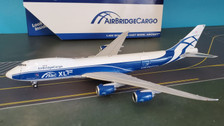 GJABW185 | Gemini Jets 1:400 1:400 | Boeing 747-8 Air Bridge Cargo VP-BBY,(open doors)