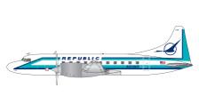 GJREP1407 | Gemini Jets 1:400 1:400 | Convair CV-580 Republic N2728R