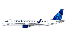 GJUAL1889 | Gemini Jets 1:400 1:400 | Embraer E-170 United Express N605UX | is due: February 2020