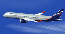AV4069A | Aviation 400 1:400 | Airbus A350-900XWB Aeroflot (with stand) | is due: February 2020