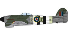 OXAC100 | Oxford Die-cast 1:72 | Hawker Typhoon Mk.1B RAF Royal Air Force 121 Squadron Hornsley South | is due: TBC 2020
