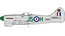 OXAC103 | Oxford Die-cast 1:72 | Hawker Tempest Mk.V SN330 3 Squadron RAF | is due: TBC 2020