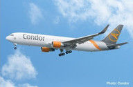 612647 | Herpa Snap-Fit (Wooster) 1:200 | Boeing B767-300 Condor | is due: March 2020