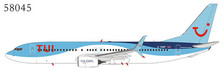 NG58045 | NG Model 1:400 | Boeing 737-800/w TUI G-TAWF | is due: March 2020