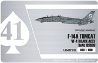 CBW721409 | Calibre Wings 1:72 | F-14A US Navy VF-41 162608 Black Aces | is due: may 2020