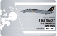 CBW721413 | Calibre Wings 1:72 | F-14D US Navy VF-31 164342 | is due: May 2020