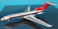 B-721-US-100P | Blue Box 1:200 | Boeing 727-100 Northwest Orient Airlines N471US Polished With Stand