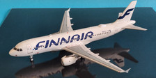 JF-A320-030 | JFox Models 1:200 | Airbus A320-214 Finnair OL-LXM (with stand.