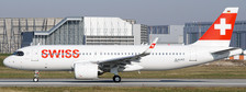 EW232N002 | JC Wings 1:200 | Airbus A320 Swiss HB-JDB with stand | is due: May 2020