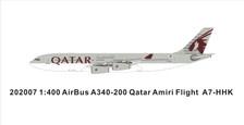 PM202007 | Panda Models 1:400 | Airbus A340-200 Qatar A7-HHK | is due: May 2020
