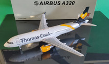 JF-A320-023 | JFox Models 1:200 | Airbus A320 Thomas Cook balerics EC-MVH (with stand)