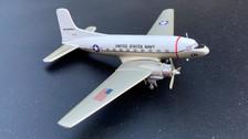 CBU37 | Western Models UK 1:200 | Douglas C-117D US Navy NAF Mildenhall 17171