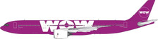 PH11607   Phoenix 1:400   Airbus A330-900 Wow TF-BIG   is due: May 2020