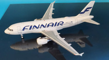 JF-A319-006 | JFox Models 1:200 | Airbus A319-112 Finnair OH-LVL (with stand)
