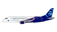 GJASA1906 | Gemini Jets 1:400 1:400 | Embraer E-175 Alaska Honoring Those Who Serve N651QX | is due: June 2020