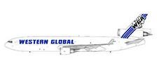 GJWGN1930 | Gemini Jets 1:400 1:400 | MD-11F Western Global | is due: July 2020