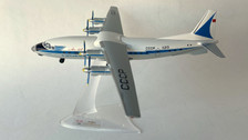 AB11213 | Custom Made Desktop Models 1:200 | Antonov An-12 Aeroflot CCCP-11213 (with stand)
