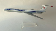 AB86488 | Custom Made Desktop Models 1:200 | Ilyushin IL-62M Aeroflot CCCP-86488  (with stand) no undercarriage
