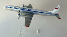 AB74250 | Custom Made Desktop Models 1:200 | Ilyushin IL-18 Aeroflot CCCP-74250 (with stand) no undercarriage
