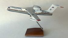 AB32766A | Custom Made Desktop Models 1:144 | Beriev BE-200 Ministry of Emergency RF-32766 (with stand) no undercarriage