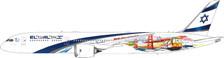 PH11621 | Phoenix 1:400 | Boeing 787-9 EL-AL 4X-EDD | is due: August 2020