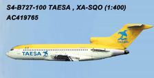 AC419765 | Aero Classics 1:400 | Boeing 727-100 TAESA XA-SQO