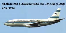 AC419780 | Aero Classics 1:400 | Boeing 737-200 Aerolineas Argentinas LV-LEB