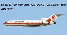 AC419761 | Aero Classics 1:400 | Boeing 727-100 TAP CS-TBM