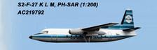 WM219792 | Aero Classics 1:200 | Fokker F-27 KLM PH-SAR
