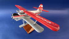 AB07167 | Custom Made Desktop Models 1:72 | Antonov AN-2 Aeroflot CCCP-07167 on skis (with stand) Fibreglass