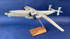AB09341 | Custom Made Desktop Models 1:144 | Antonov AN-22 Aeroflot CCCP-09341 (with stand and no undercarriage) Fibreglass