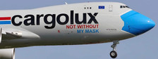 XX20079 | JC Wings 1:200 | Boeing 747-8F Cargolux LX-VCF, 'Mask' (with stand) | is due: October 2020