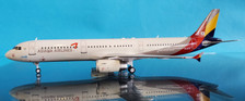 JF-A321-012 | JFox Models 1:200 | Airbus A321-200 Asiana Airlines HL8279 (with stand)