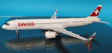 JF-A321-023 | JFox Models 1:200 | Airbus A321neo Swiss HB-JPA (with stand)