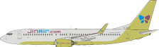 JF-737-8-024 | JFox Models 1:200 | Boeing 737-800 Jin Air HL8015 (with stand) | is due: October 2020