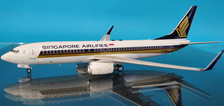 JF-737-8-036 | JFox Models 1:200 | Boeing 737-800 Singapore Airlines 9V-MGA (with stand)