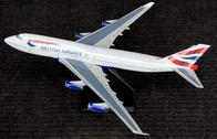DMGCIVW   Desktop Models 1:100   Boeing 747-400 British Airways G-CIVW Chatham scheme