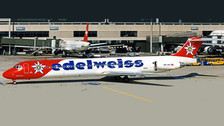 XX20095 | JC Wings 1:200 | MD-83 Edelweiss Air HB-IKP (with stand) | is due: December 2020