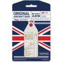 AVTAGGEUOH | Gifts | Original Aircraft Skin - Airbus A320 British Airways G-EUOH