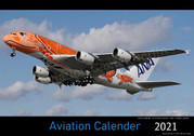AIRCAL2021 | Calendars | Wall Calendar - Aviation Calendar 2021 (A3 size)
